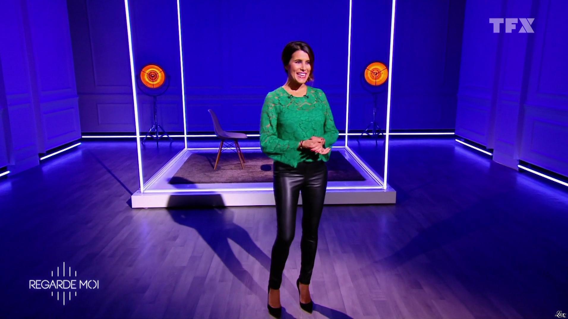 Karine Ferri dans Regarde Moi. Diffusé à la télévision le 15/03/18.