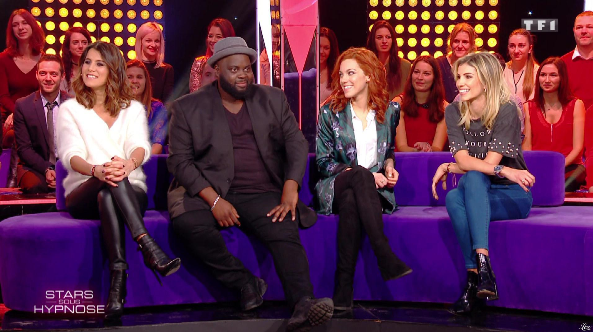 Karine Ferri dans Stars Sous Hypnose. Diffusé à la télévision le 13/01/18.