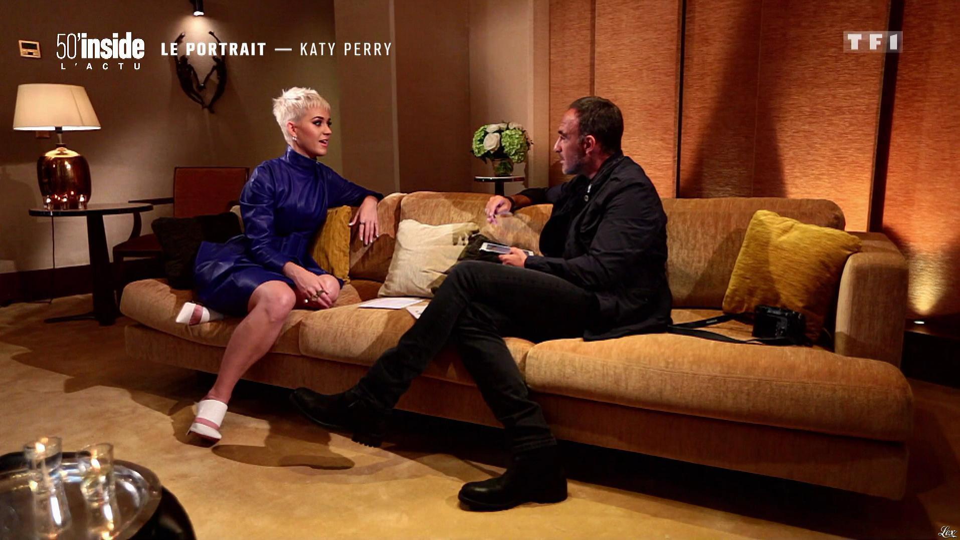 Katy Perry dans 50 Minutes Inside. Diffusé à la télévision le 10/06/17.