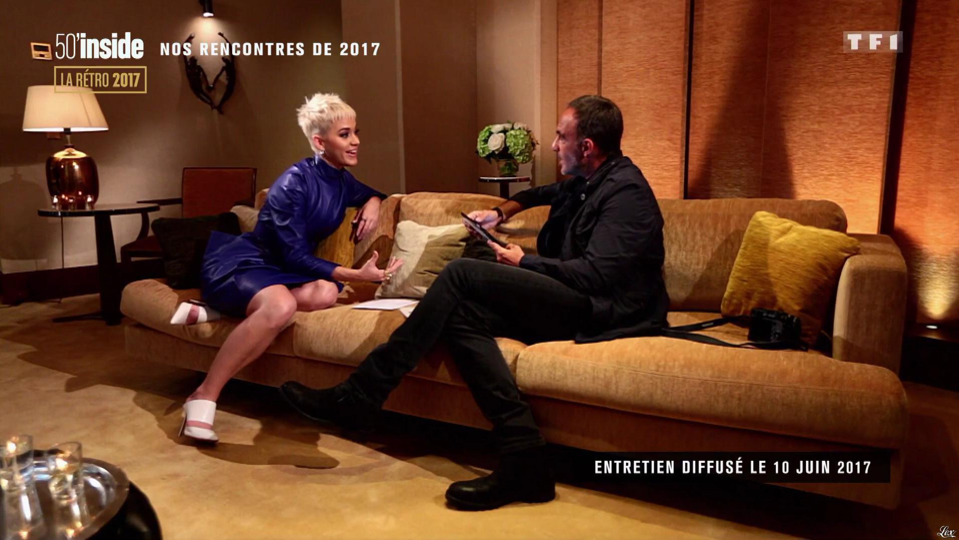 Katy Perry dans 50 Minutes Inside. Diffusé à la télévision le 30/12/17.