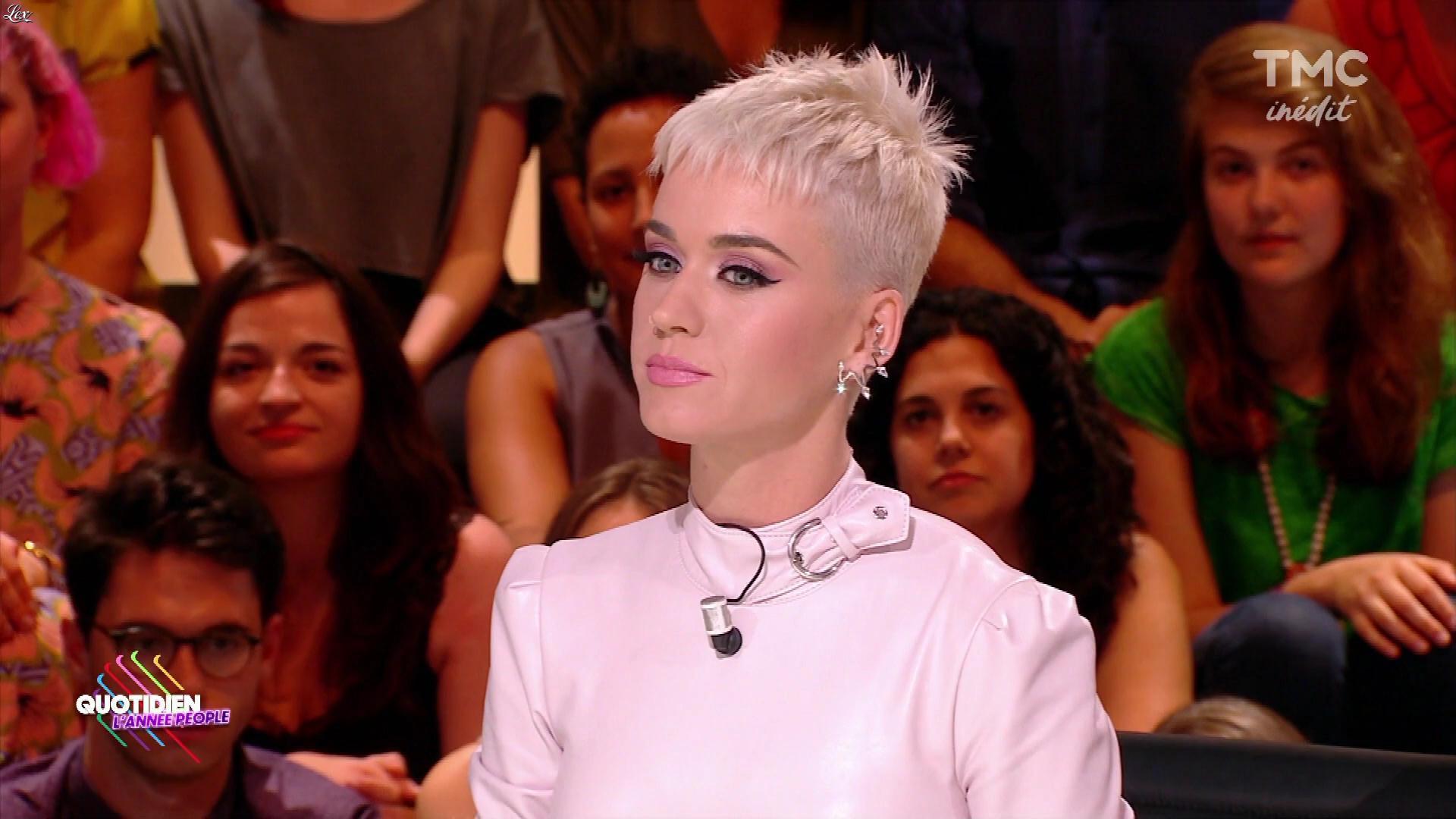 Katy Perry dans Quotidien. Diffusé à la télévision le 03/01/18.
