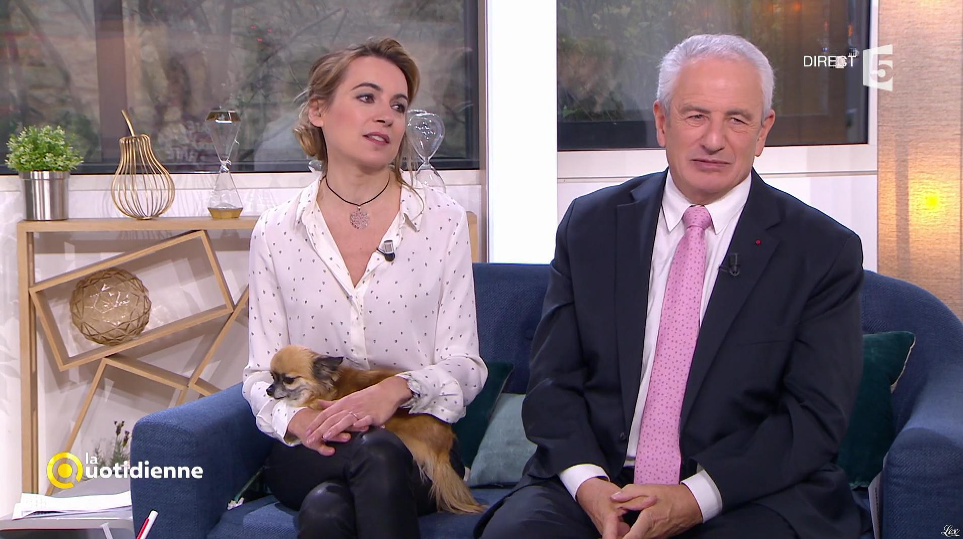 Laetitia Barlerin dans la Quotidienne. Diffusé à la télévision le 29/11/17.