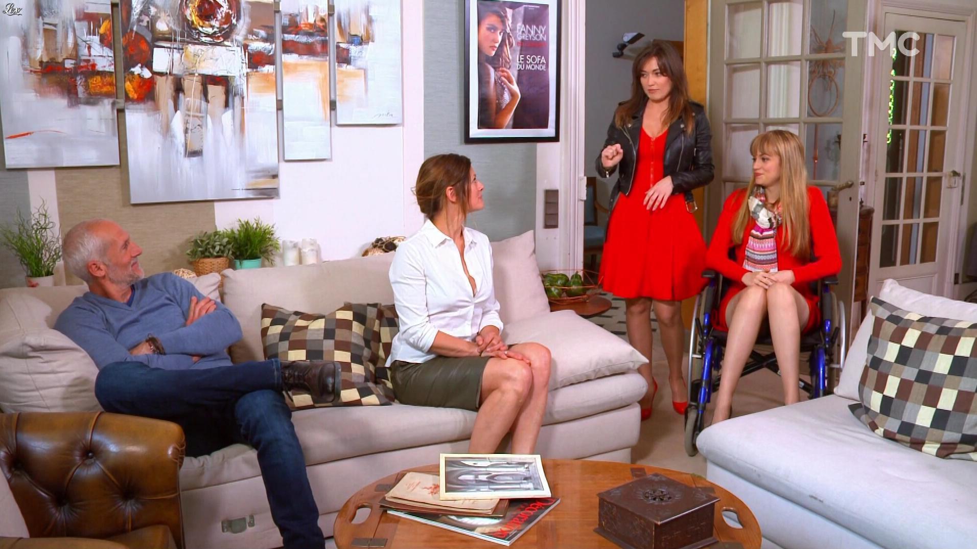 Laly Meignan, Elsa Esnoult et Ambre Rochard dans les Mystères de l'Amour. Diffusé à la télévision le 04/07/17.