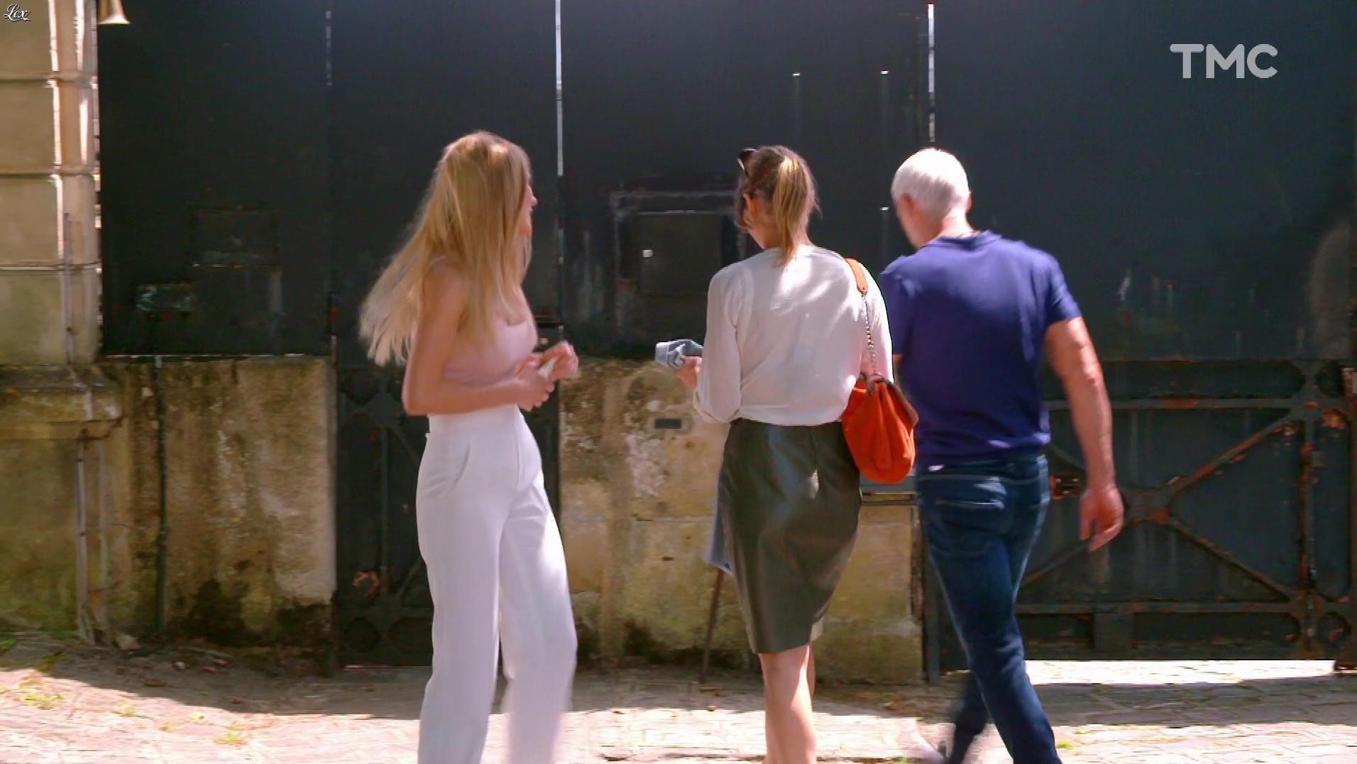 Laly Meignan dans les Mystères de l'Amour. Diffusé à la télévision le 01/10/17.