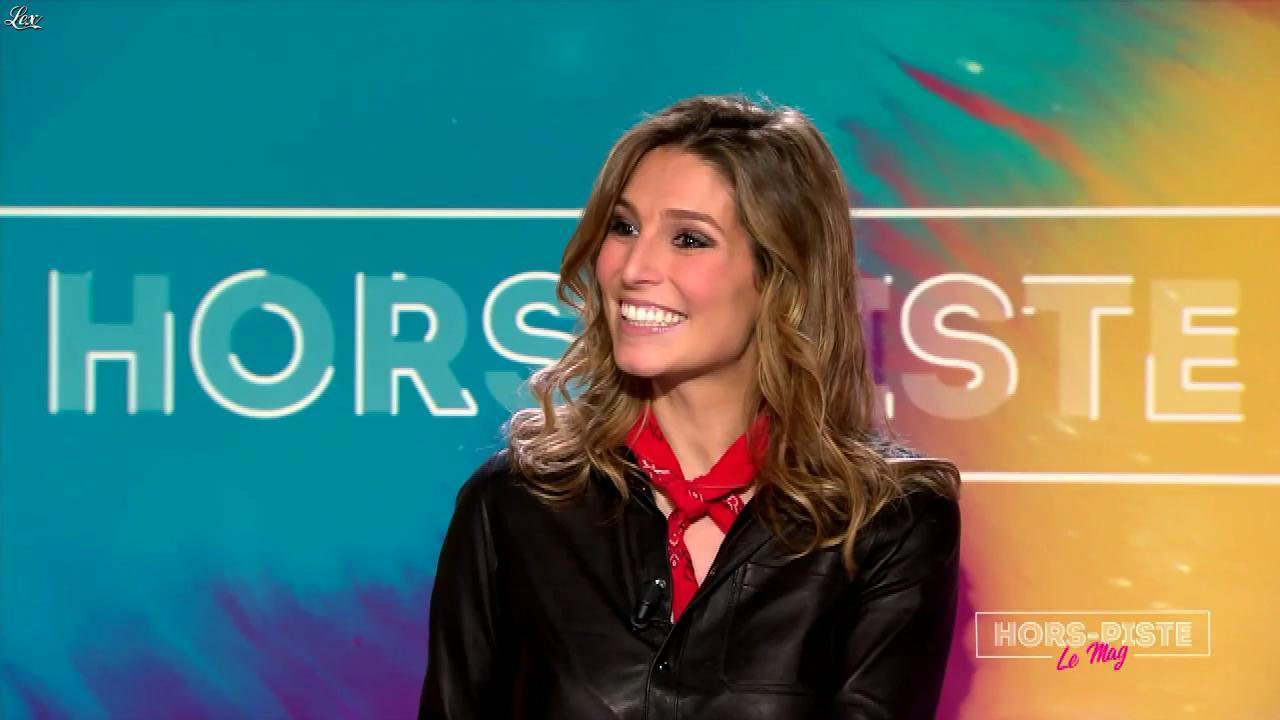 Laury Thilleman dans Hors Piste. Diffusé à la télévision le 15/01/17.