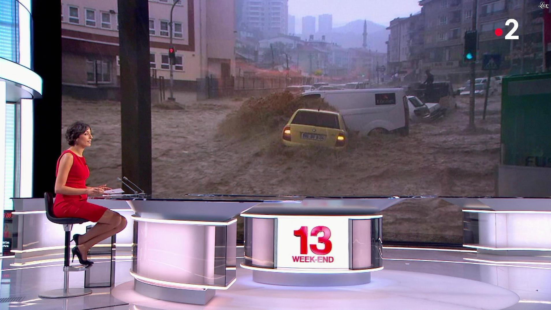 Leïla Kaddour dans le 13h. Diffusé à la télévision le 06/05/18.