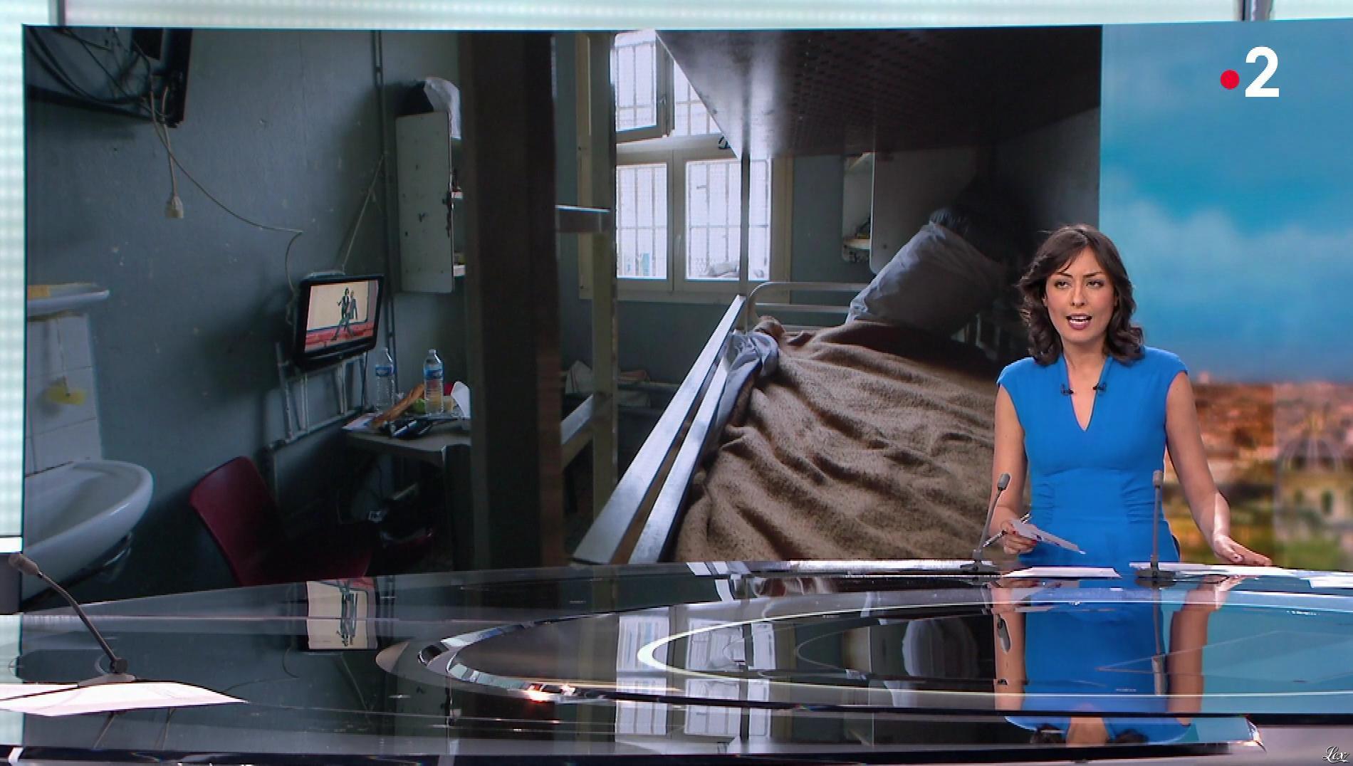 Leïla Kaddour dans le 13h. Diffusé à la télévision le 07/04/18.
