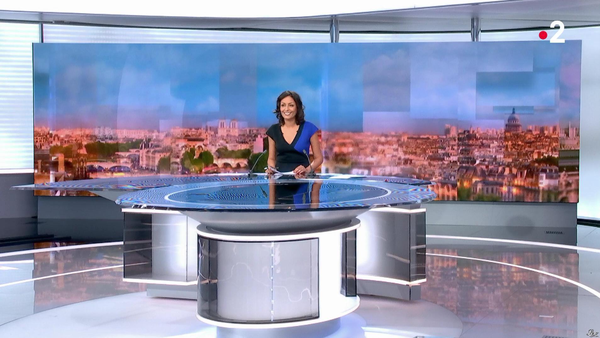 Leïla Kaddour dans le 13h. Diffusé à la télévision le 08/04/18.