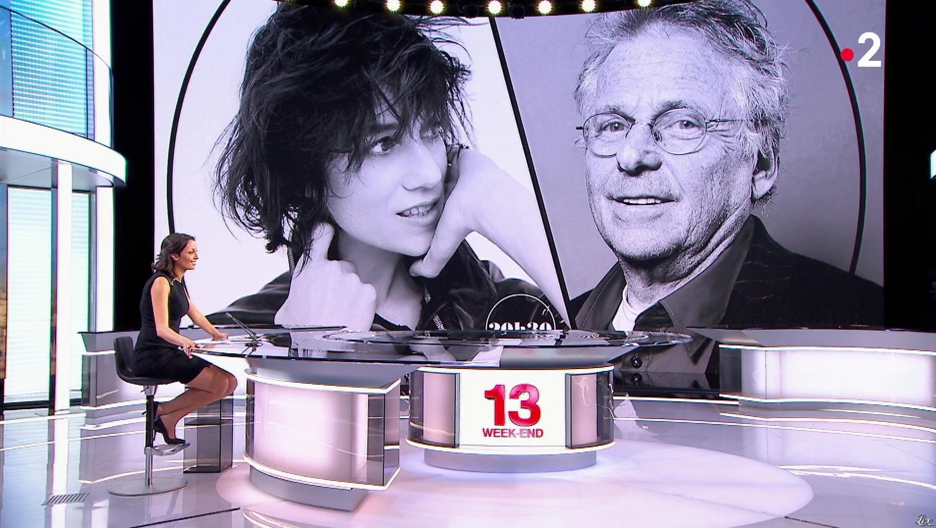 Leïla Kaddour dans le 13h. Diffusé à la télévision le 15/04/18.