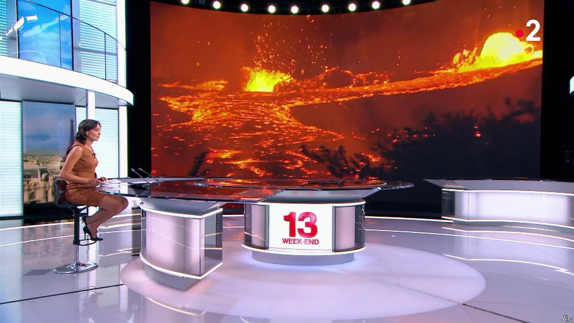 Leïla Kaddour dans le 13h. Diffusé à la télévision le 20/05/18.