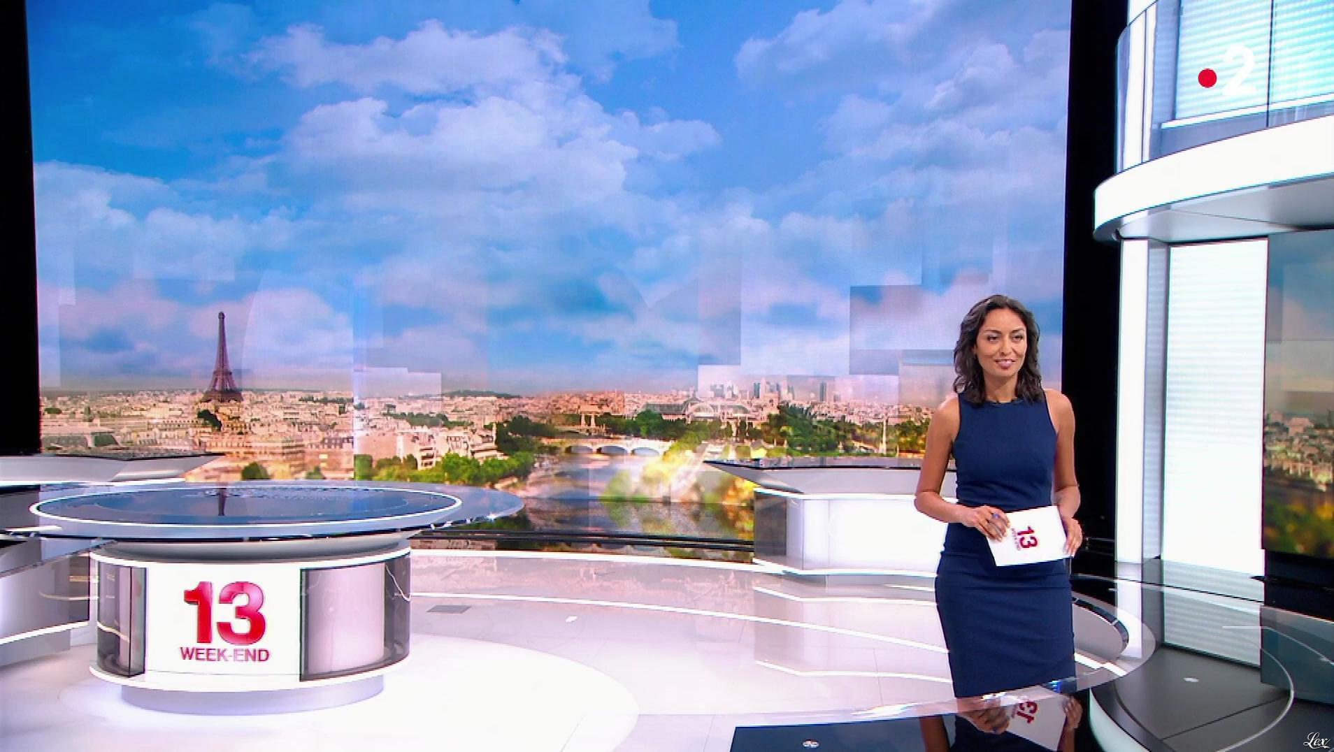 Leïla Kaddour dans le 13h. Diffusé à la télévision le 26/05/18.