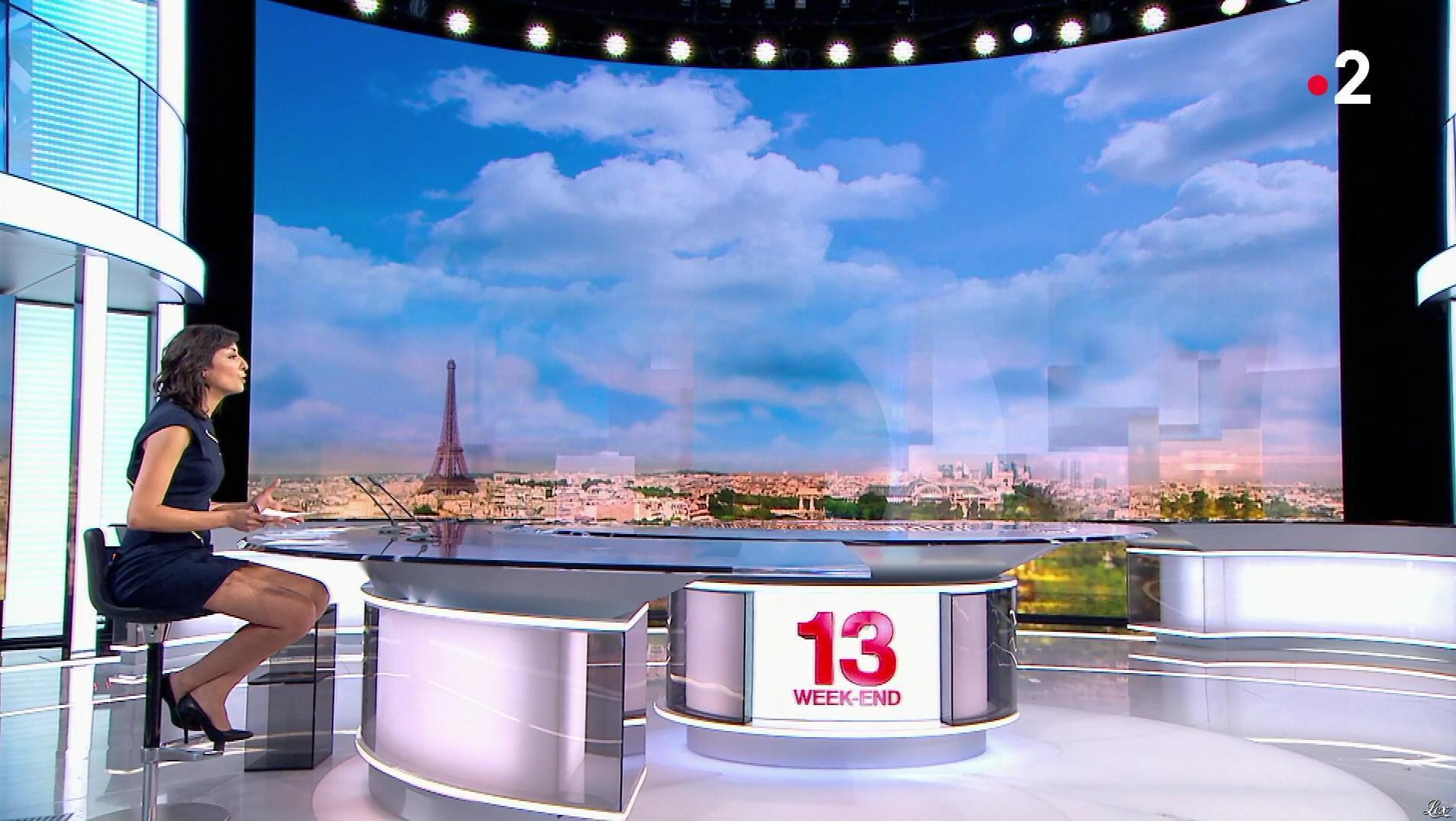 Leïla Kaddour dans le 13h. Diffusé à la télévision le 31/03/18.
