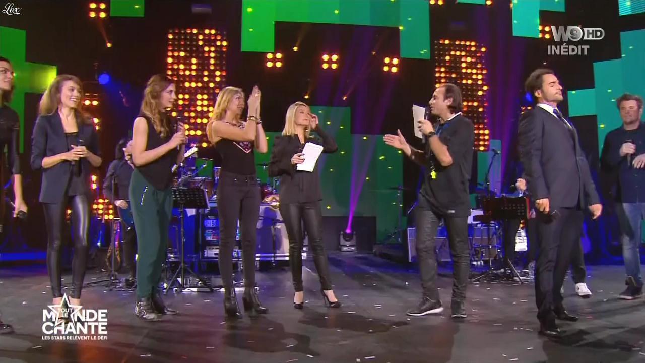 Louise Ekland et Marie-Ange Casalta dans Tout le Monde Chante. Diffusé à la télévision le 17/12/15.