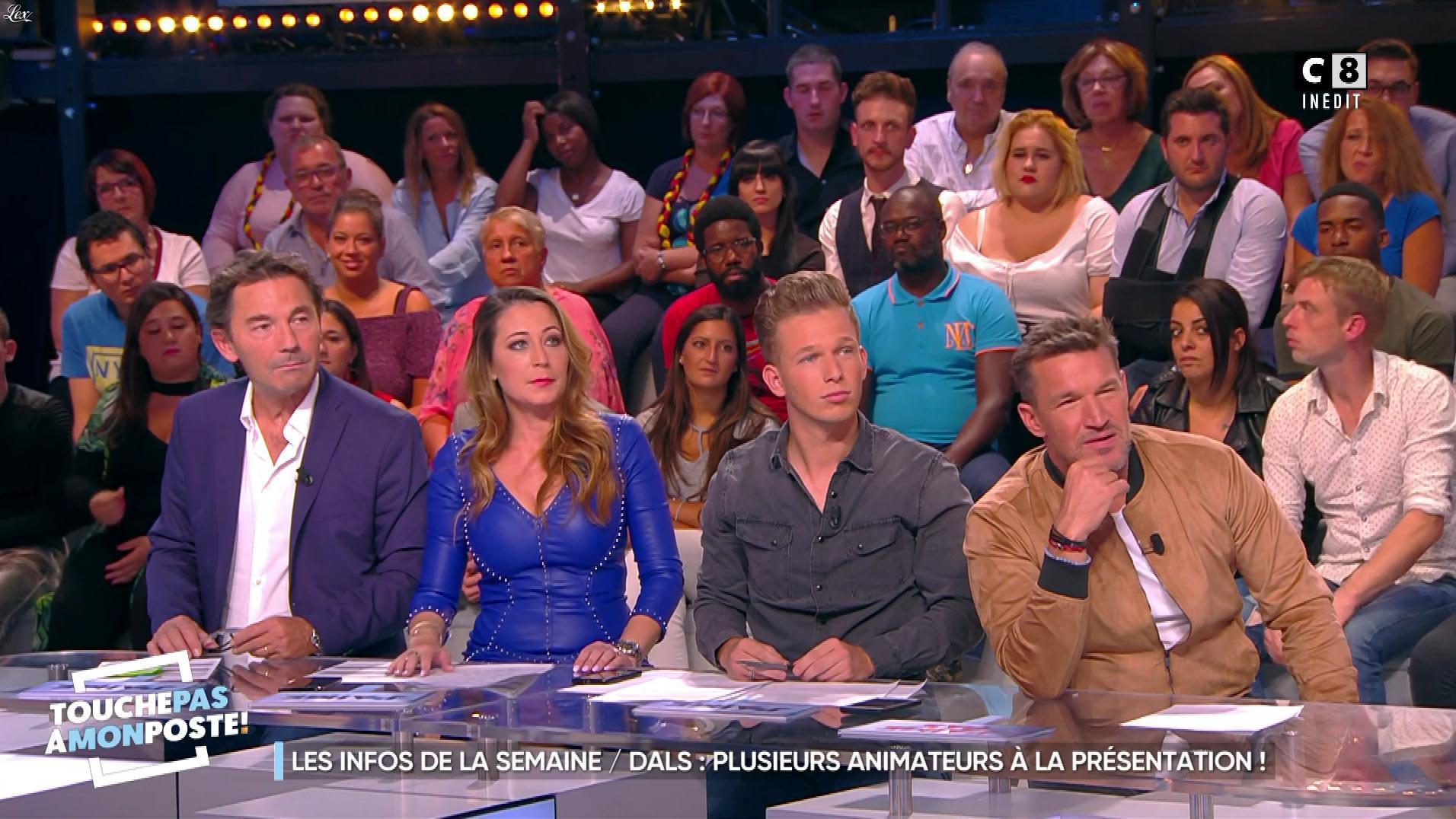 Magali Berdah dans Touche pas à mon Poste. Diffusé à la télévision le 08/09/17.