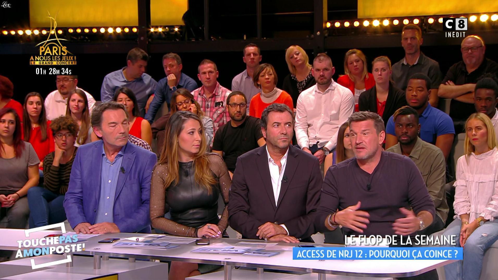 Magali Berdah dans Touche pas à mon Poste. Diffusé à la télévision le 15/09/17.