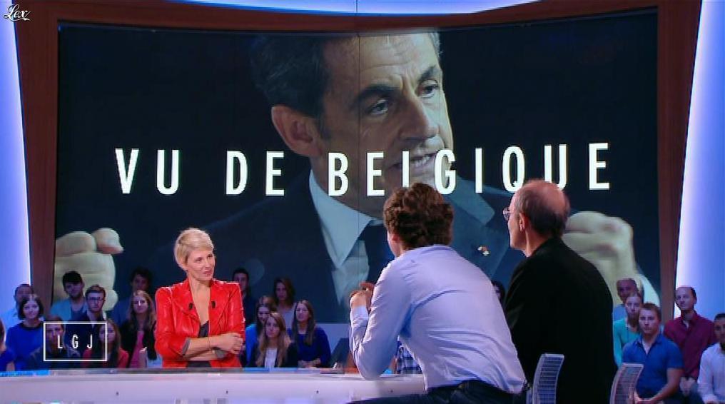 Maïtena Biraben dans le Grand Journal de Canal Plus. Diffusé à la télévision le 24/10/14.