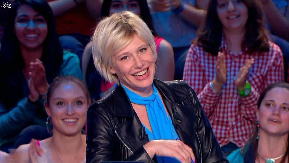 Maïtena Biraben dans le News Show. Diffusé à la télévision le 10/07/13.