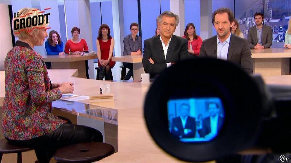 Maïtena Biraben dans le Supplément. Diffusé à la télévision le 02/03/14.