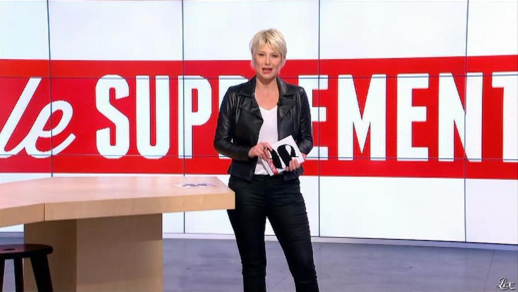 Maïtena Biraben dans le Supplément. Diffusé à la télévision le 02/06/13.