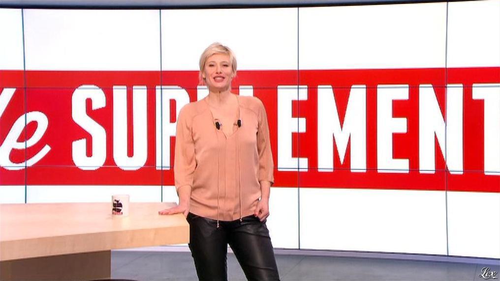 Maïtena Biraben dans le Supplément. Diffusé à la télévision le 09/02/13.