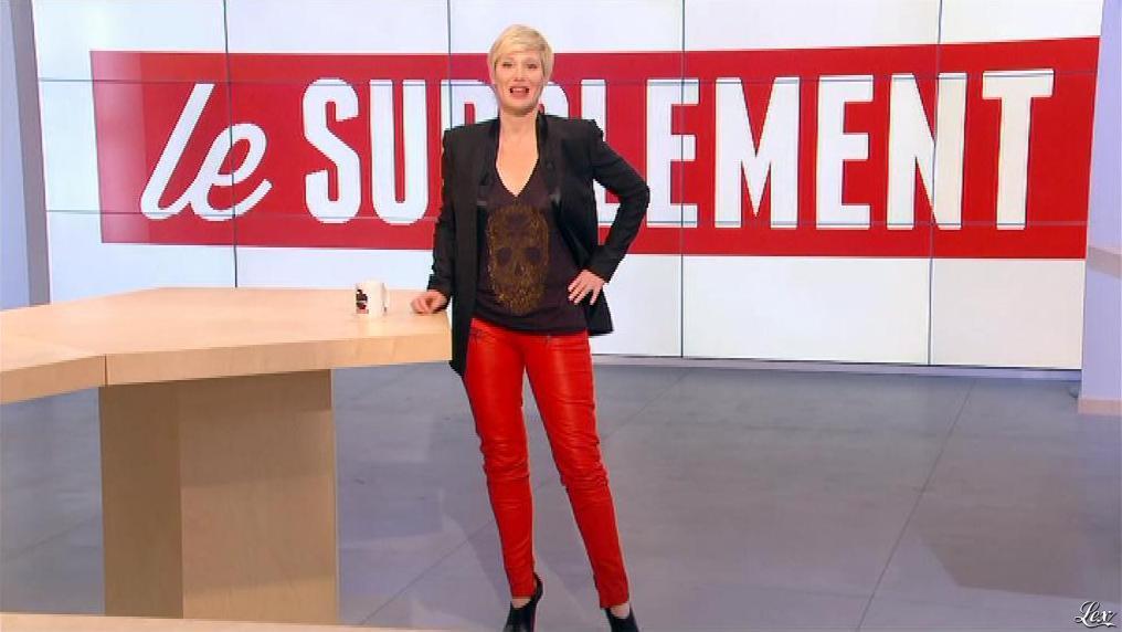 Maïtena Biraben dans le Supplément. Diffusé à la télévision le 12/01/13.