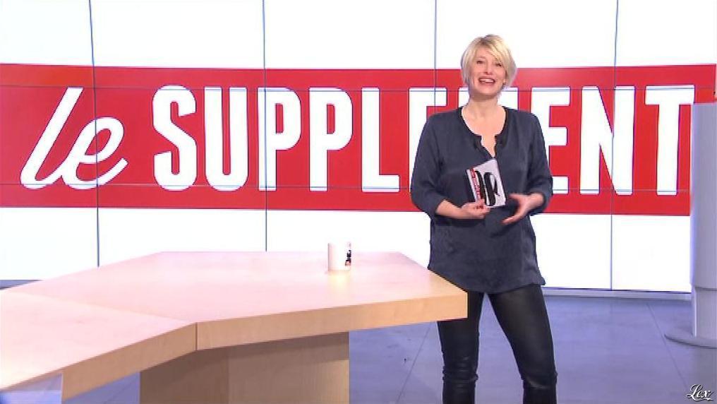 Maïtena Biraben dans le Supplément. Diffusé à la télévision le 16/02/14.