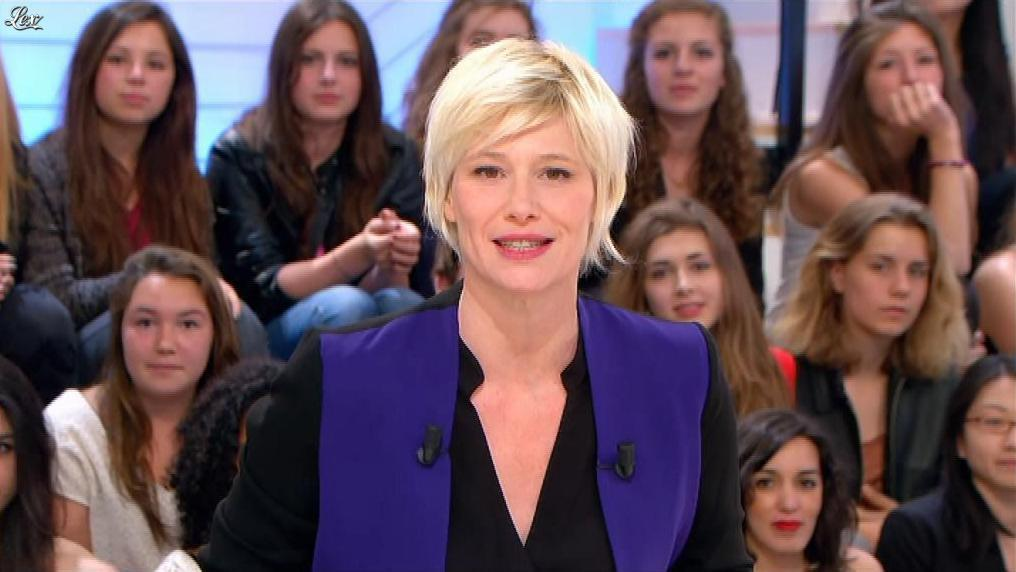Maïtena Biraben dans le Supplément. Diffusé à la télévision le 16/06/13.