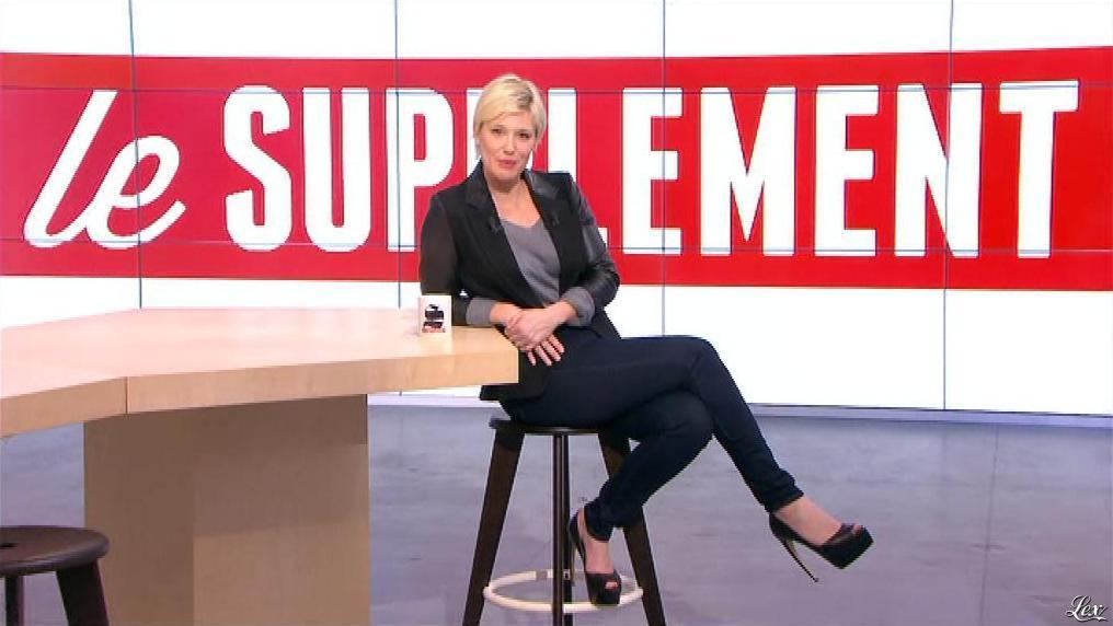 Maïtena Biraben dans le Supplément. Diffusé à la télévision le 16/12/12.