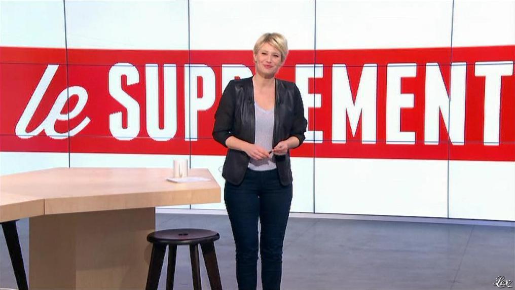 Maïtena Biraben dans le Supplément. Diffusé à la télévision le 17/03/13.