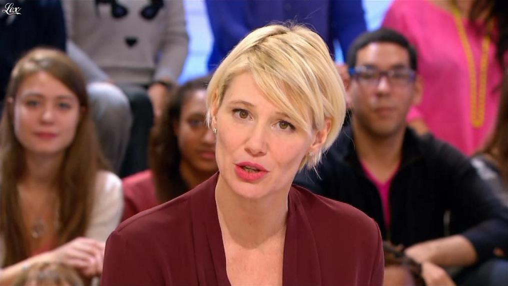 Maïtena Biraben dans le Supplément. Diffusé à la télévision le 17/11/13.