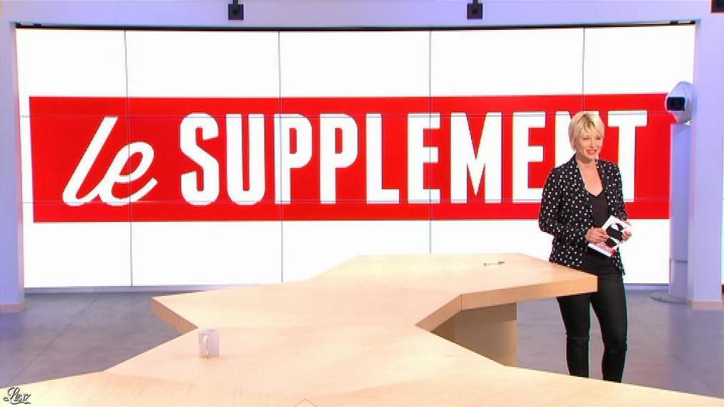 Maïtena Biraben dans le Supplément. Diffusé à la télévision le 23/06/13.