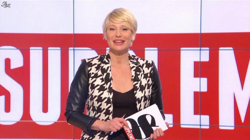 Maïtena Biraben dans le Supplément. Diffusé à la télévision le 27/04/14.