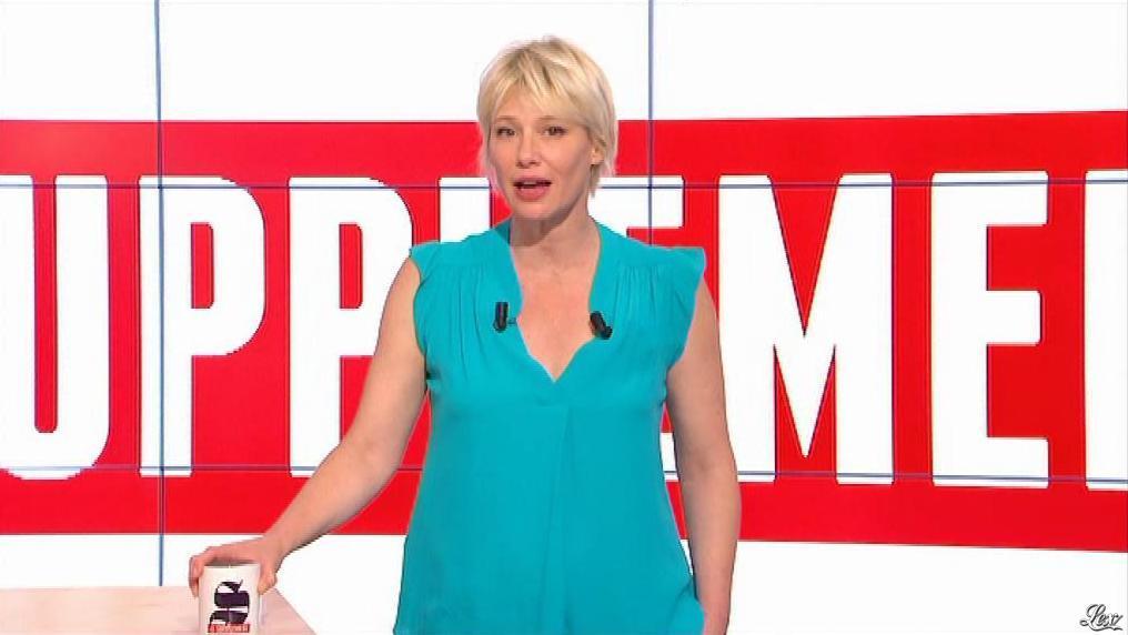 Maïtena Biraben dans le Supplément. Diffusé à la télévision le 31/08/13.