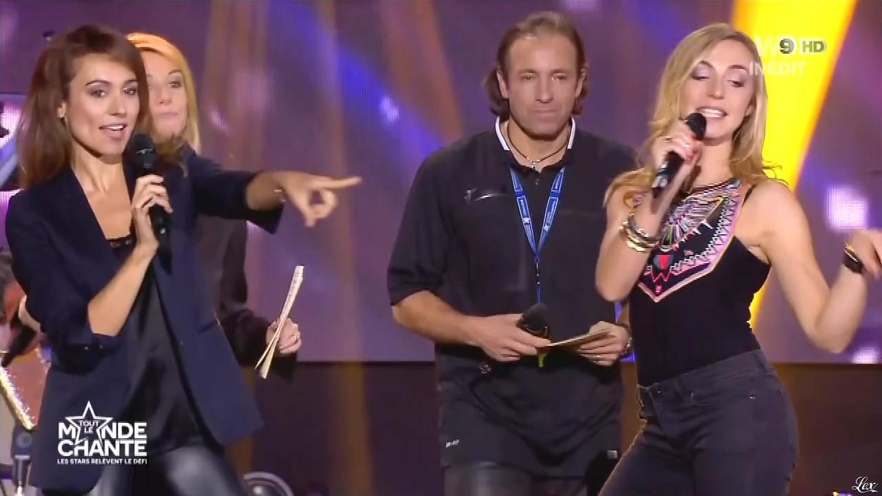 Marie-Ange Casalta dans Tout le Monde Chante. Diffusé à la télévision le 17/12/15.