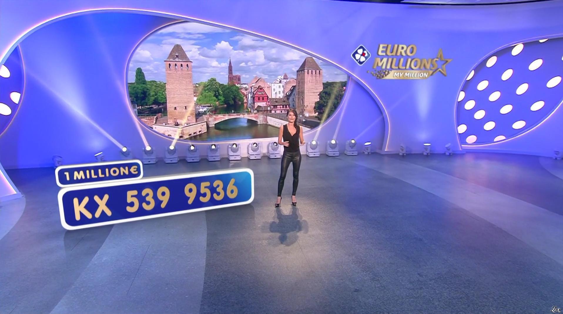 Marion Jollès Grosjean dans Euro Millions. Diffusé à la télévision le 15/05/18.