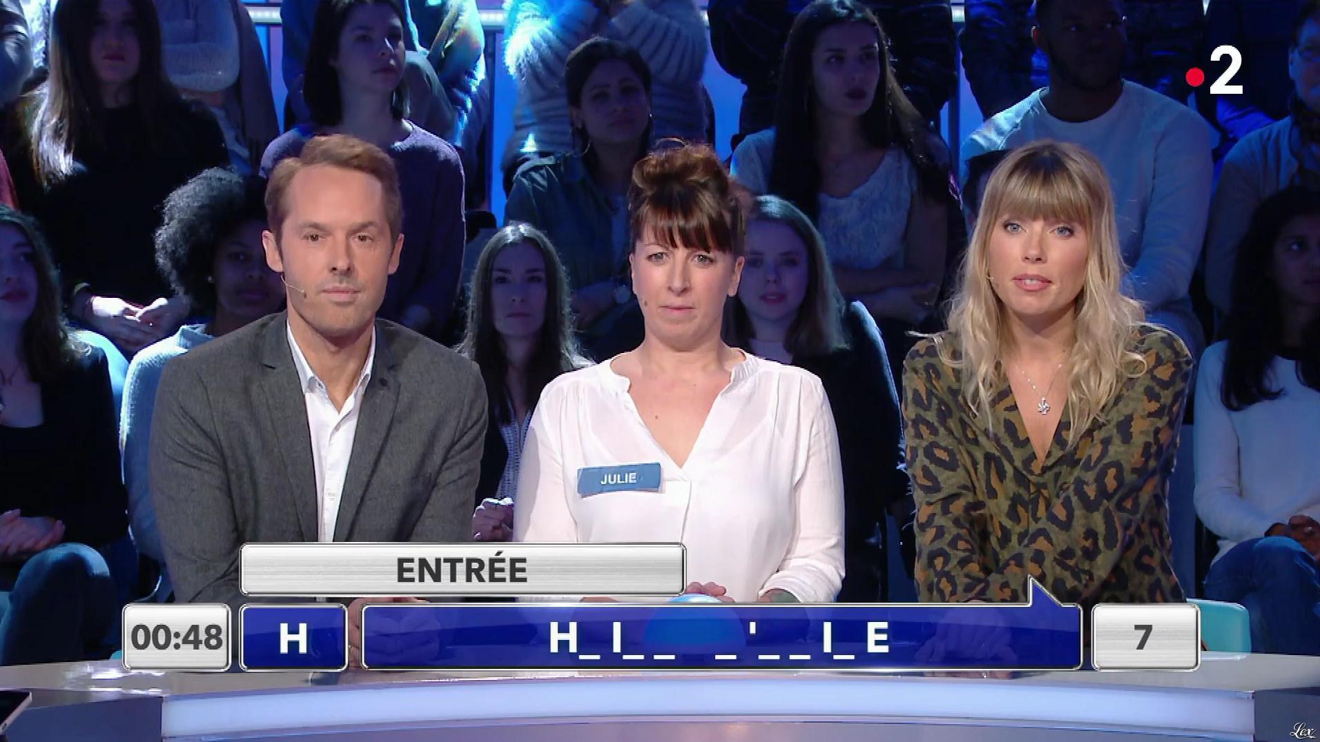 Mélanie Page dans Tout le Monde à son Mot à Dire. Diffusé à la télévision le 06/03/18.