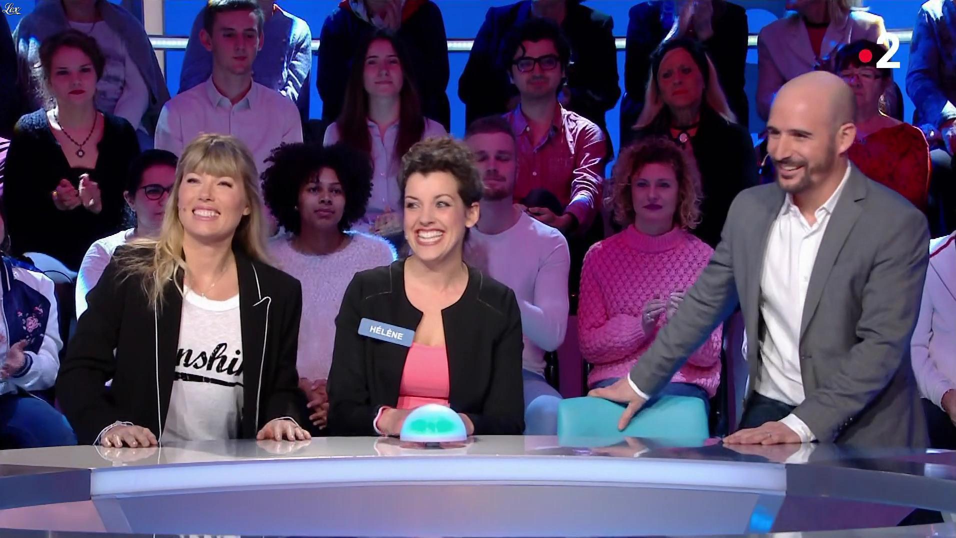 Mélanie Page dans Tout le Monde à son Mot à Dire. Diffusé à la télévision le 19/03/18.