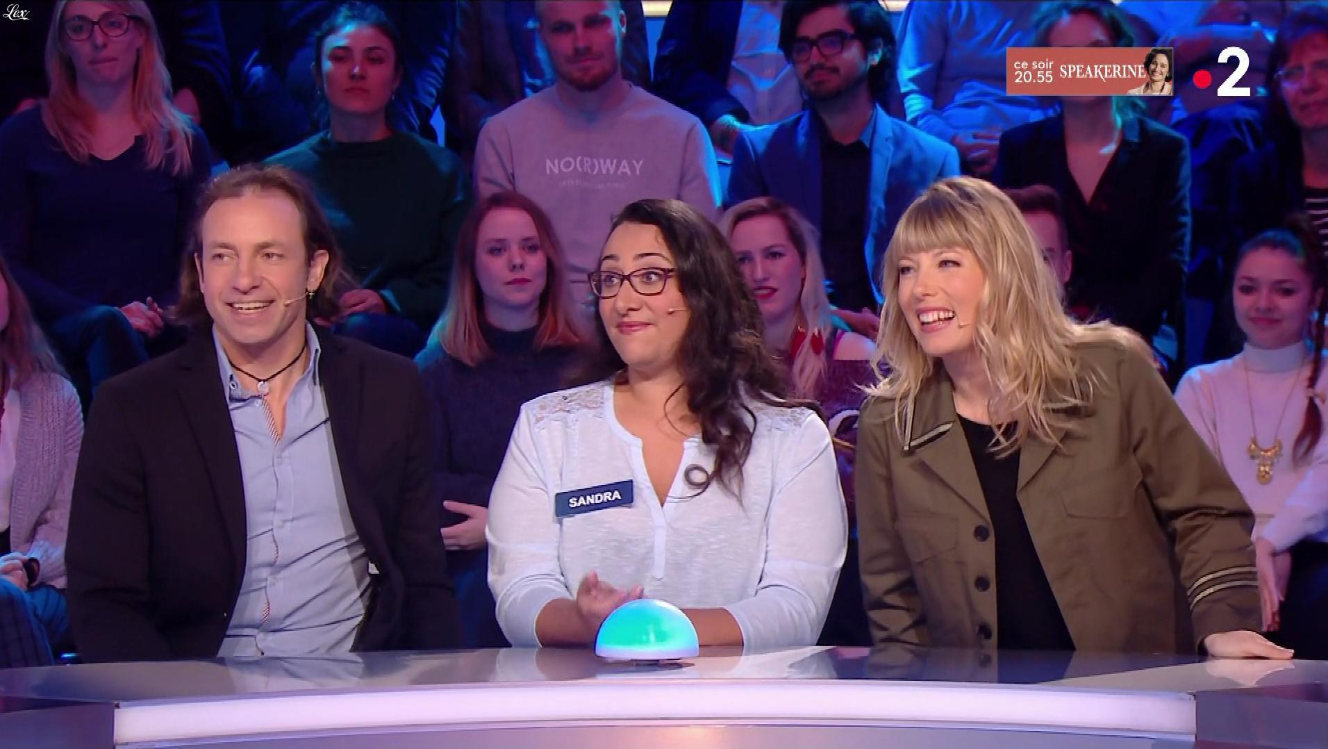 Mélanie Page dans Tout le Monde à son Mot à Dire. Diffusé à la télévision le 30/04/18.