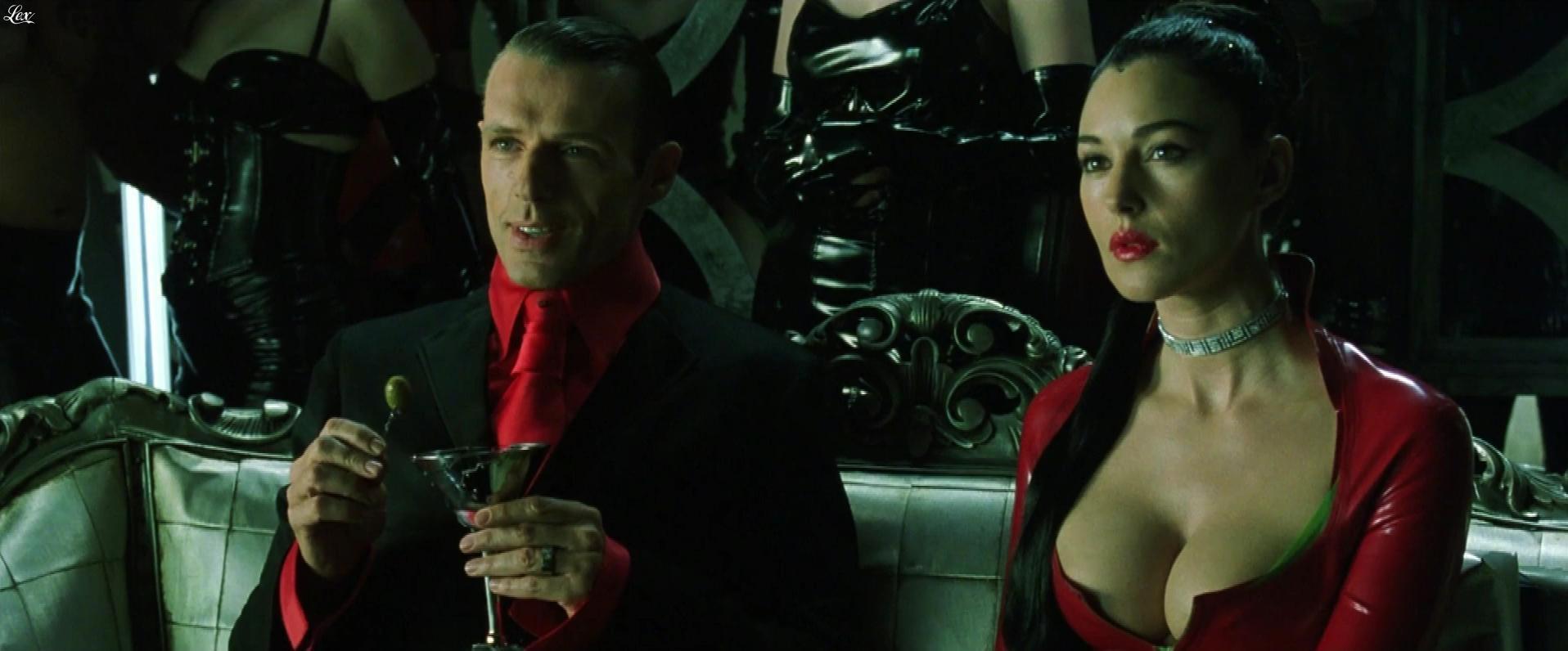MoniÇa Bellucci dans Matrix Revolutions. Diffusé à la télévision le 18/09/17.