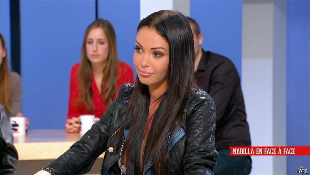 Nabilla Benattia dans le Supplément. Diffusé à la télévision le 02/06/13.