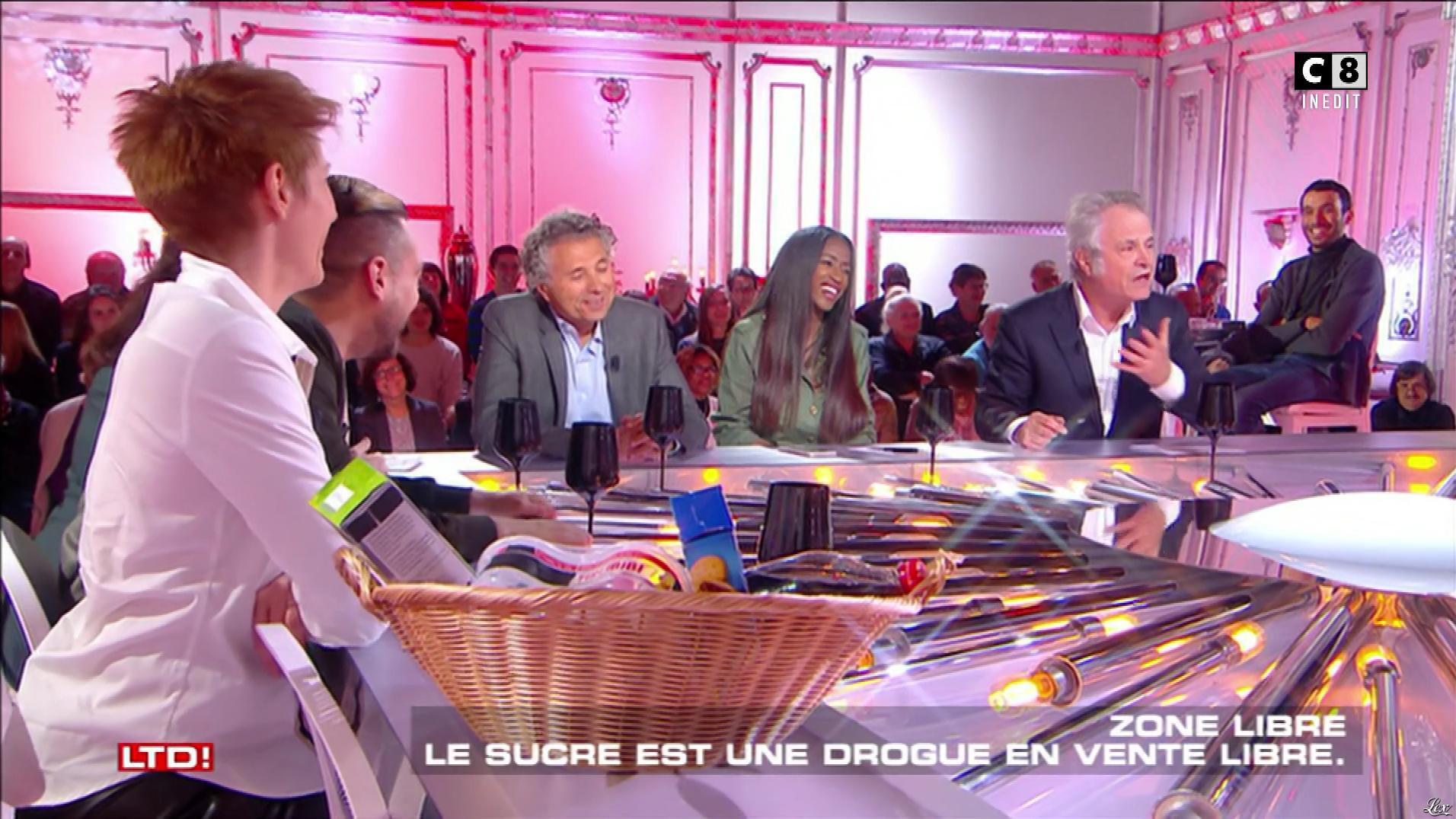 Natacha Polony et Hapsatou Sy dans les Terriens du Dimanche. Diffusé à la télévision le 19/11/17.