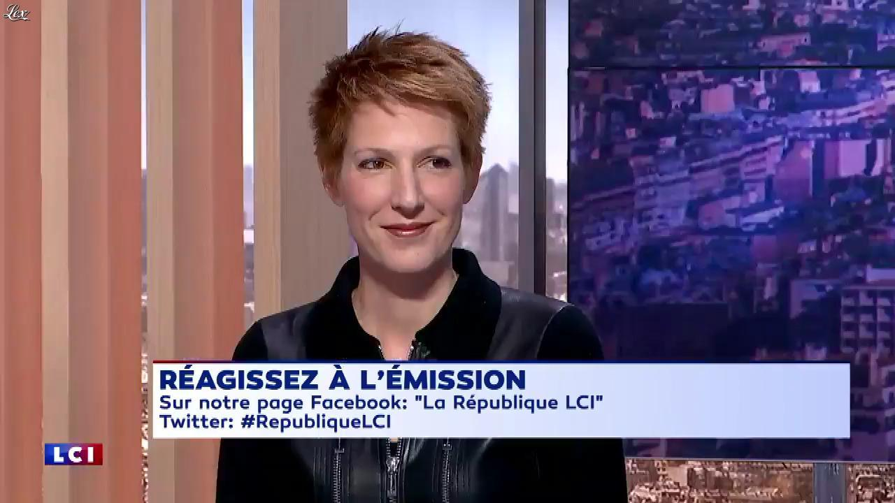 Natacha Polony dans la Republique LCI. Diffusé à la télévision le 18/10/17.