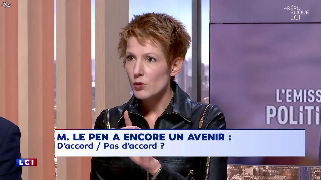 Natacha Polony dans la Republique LCI. Diffusé à la télévision le 20/10/17.