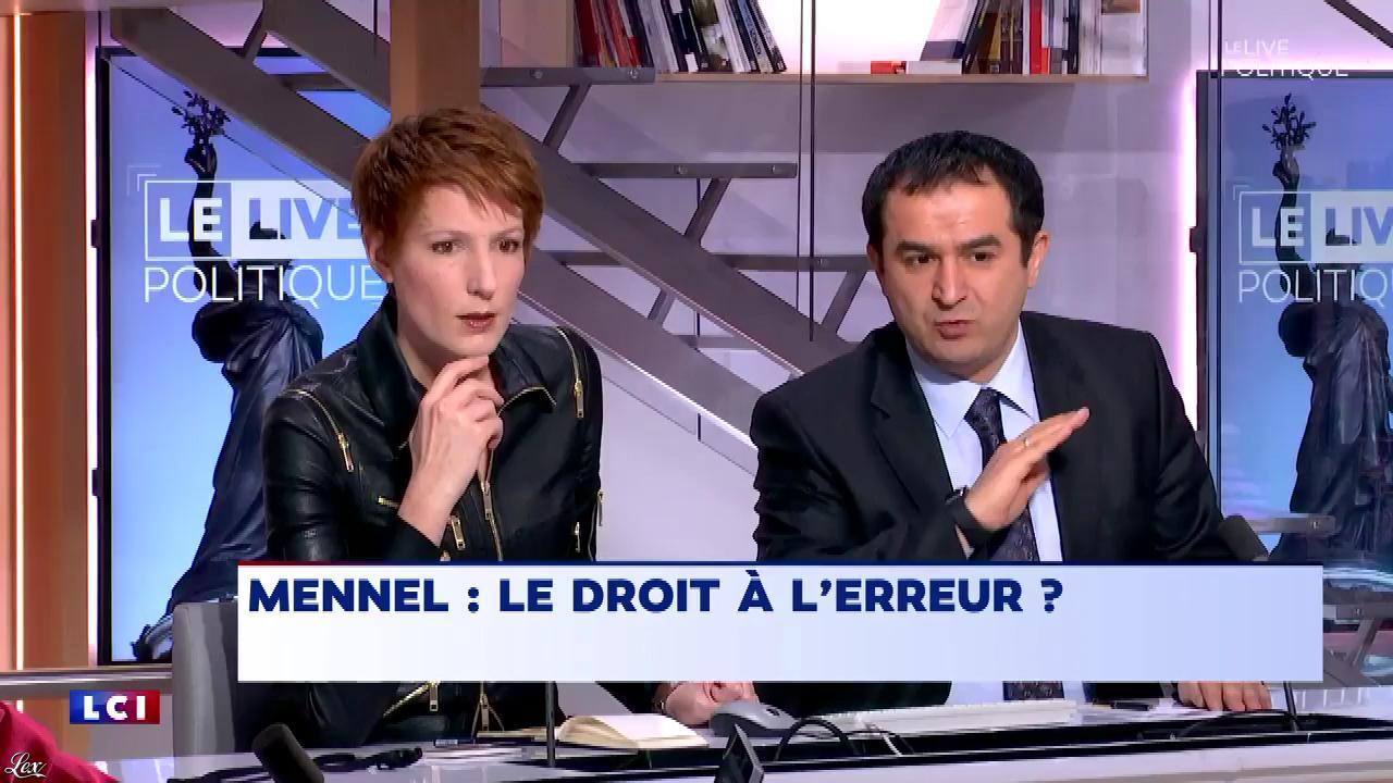 Natacha Polony dans le Live Politique. Diffusé à la télévision le 11/02/18.