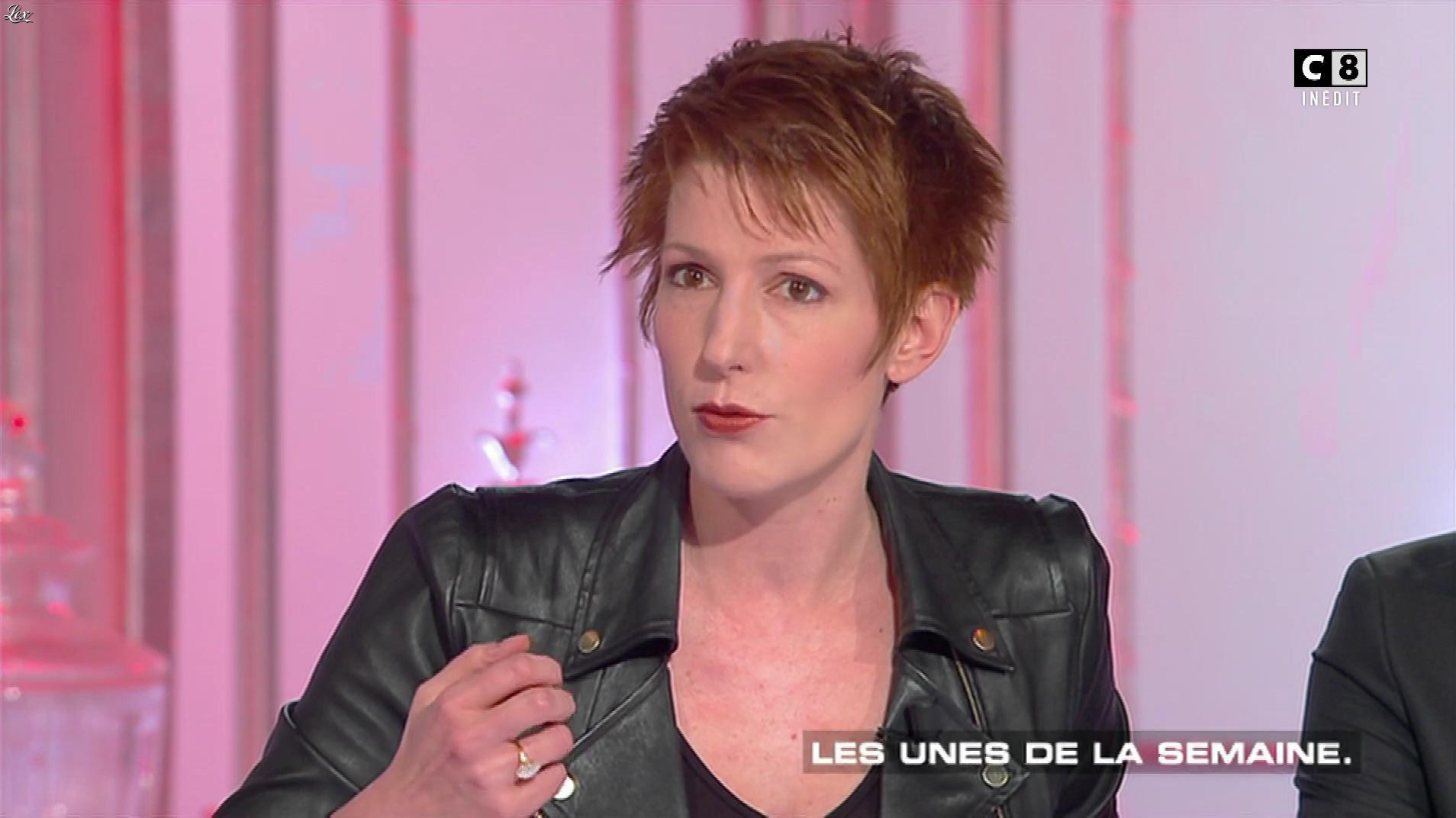 Natacha Polony dans les Terriens du Dimanche. Diffusé à la télévision le 14/01/18.