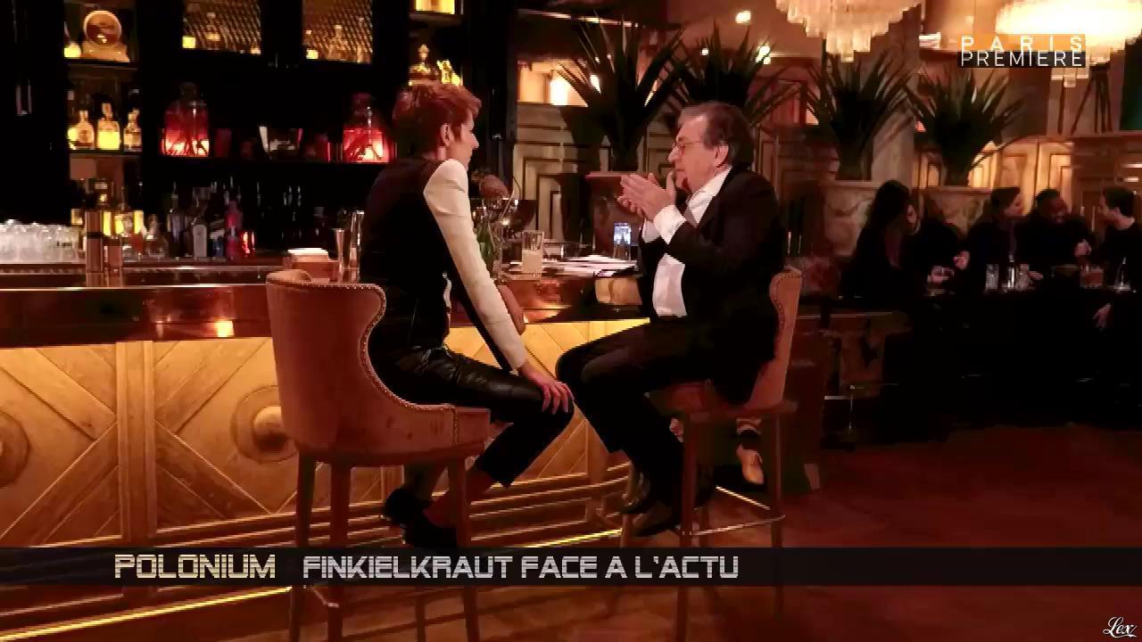 Natacha Polony dans Polonium. Diffusé à la télévision le 01/03/17.