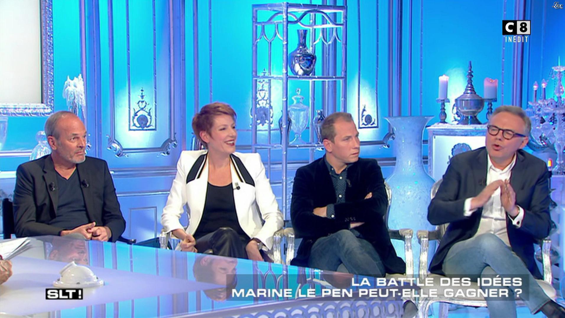 Natacha Polony dans Salut les Terriens. Diffusé à la télévision le 29/04/17.
