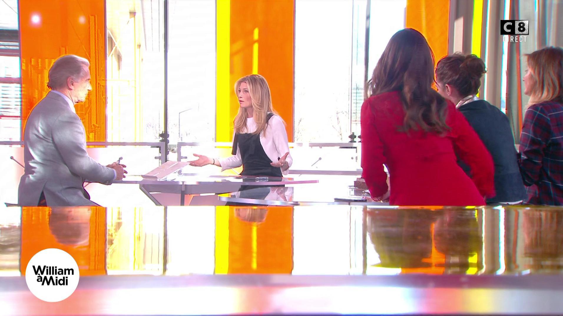 Sandrine Arcizet dans William à Midi. Diffusé à la télévision le 12/12/17.