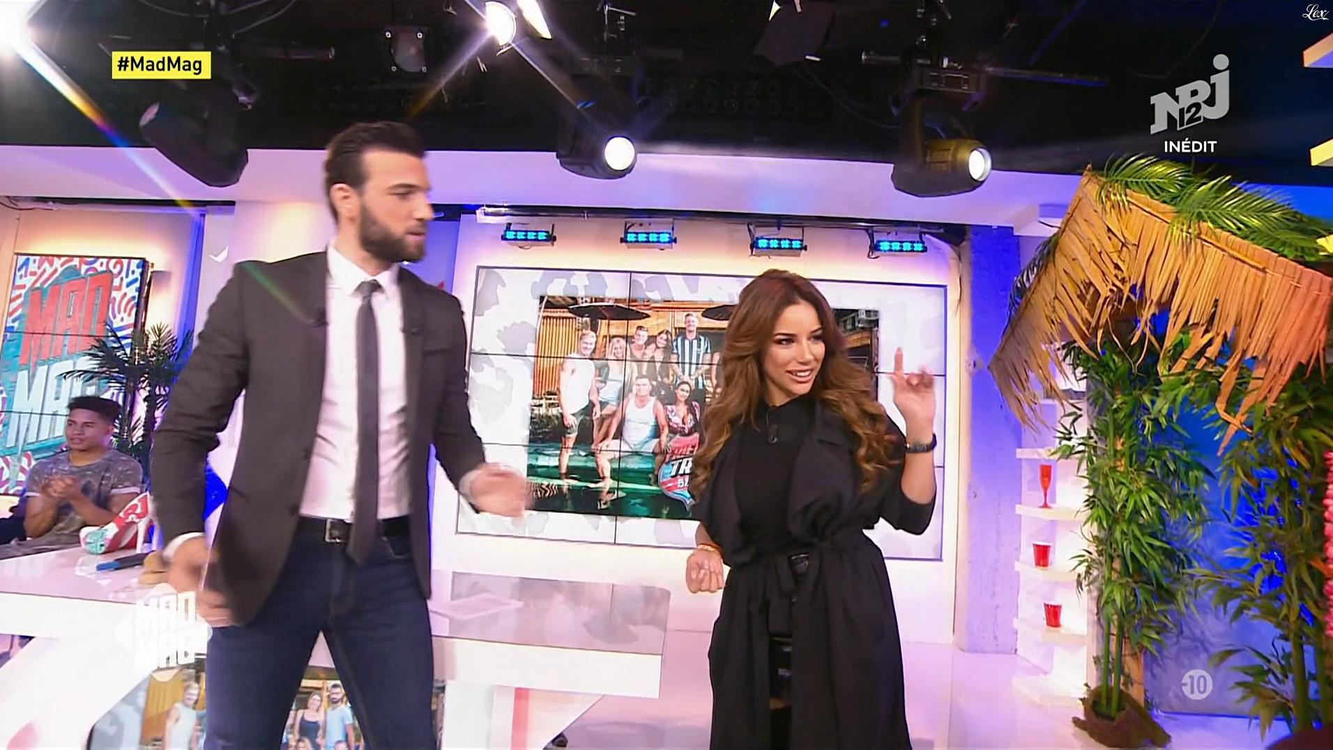 Sarah dans le Mad Mag. Diffusé à la télévision le 09/01/18.