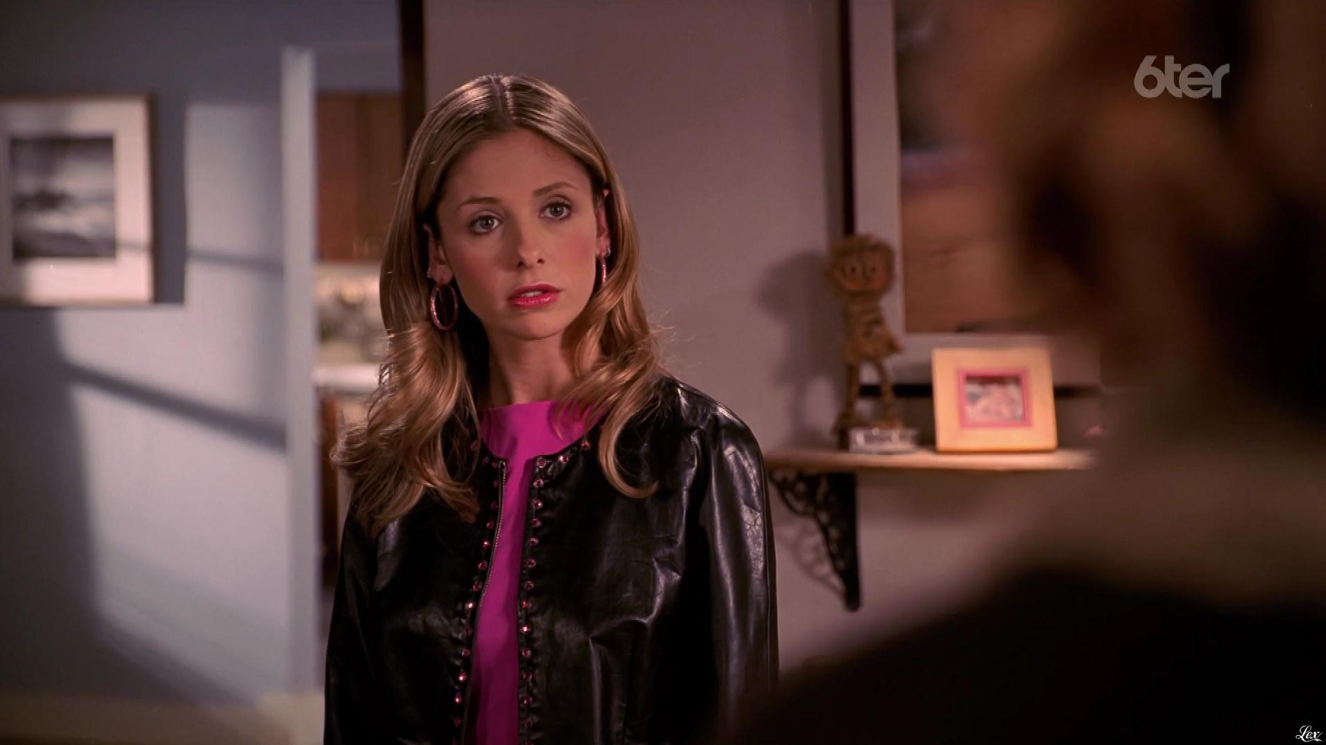Sarah Michelle Gellar dans Buffy Contre les Vampires. Diffusé à la télévision le 05/07/17.
